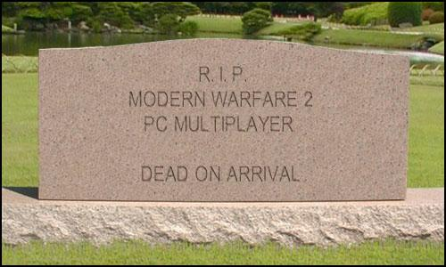 PETITION TO MAKE CALL OF DUTY MODERN WARFARE 2 HAVE... Tombst10