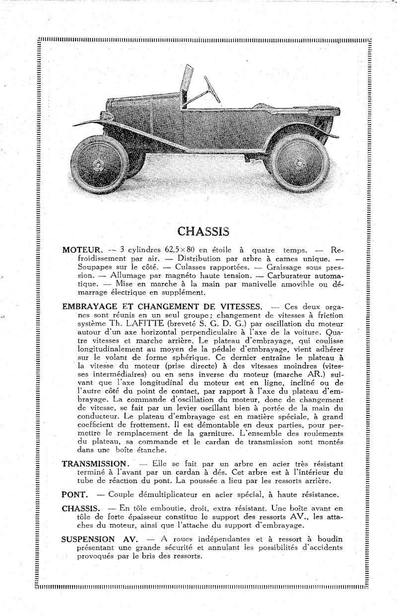 Cyclecar Lafitte Lafitt11