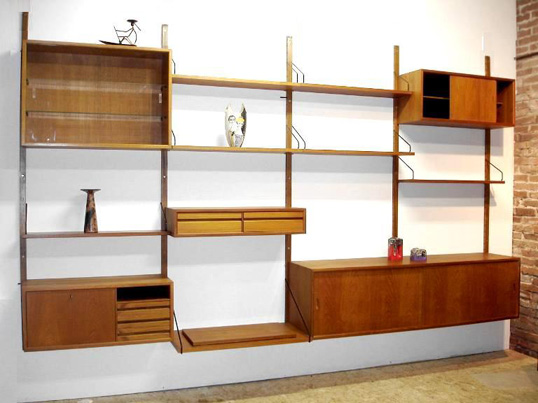 Poul Cadovius 'Royal System' wall unit Cadovi11