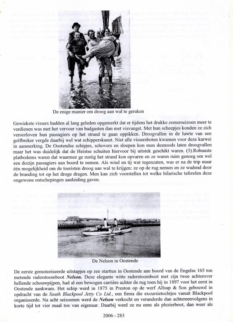 Les Bateaux d'excursions en mer des ports belges M310