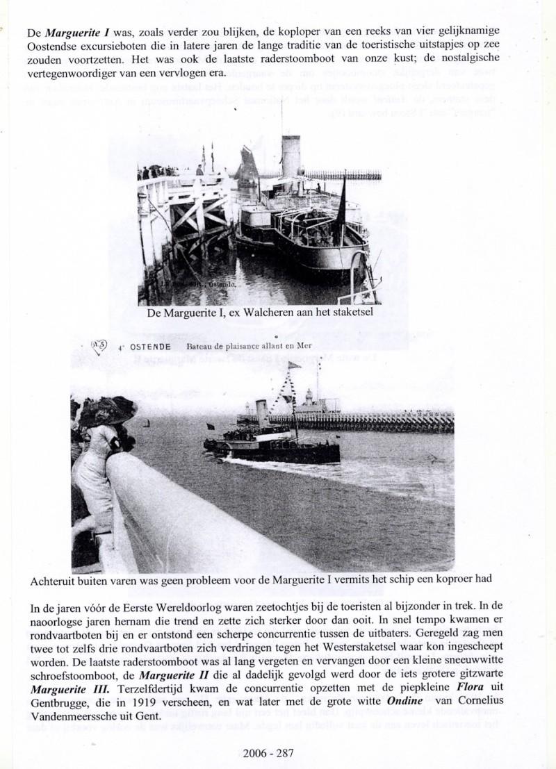 Les Bateaux d'excursions en mer des ports belges M710
