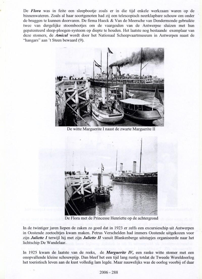 Les Bateaux d'excursions en mer des ports belges M810