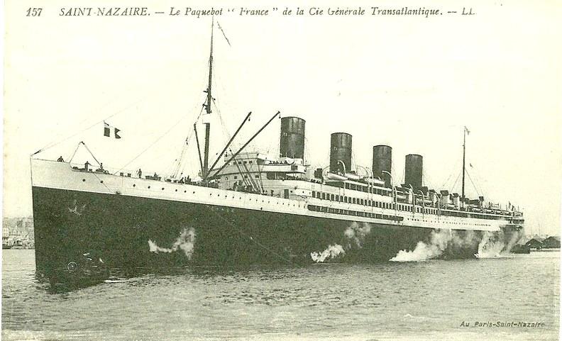 "Paquebot "" Le France"" 1912 France11"