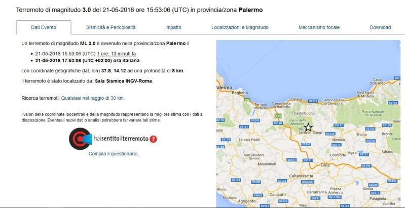 Evento sismico nelle Madonie Terrem12