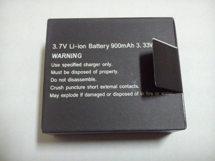 Bateria Action Cam 13064710