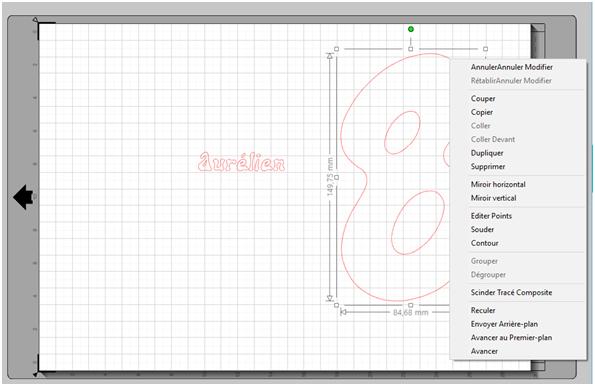 comment suivre une forme avec un texte? Imprim11