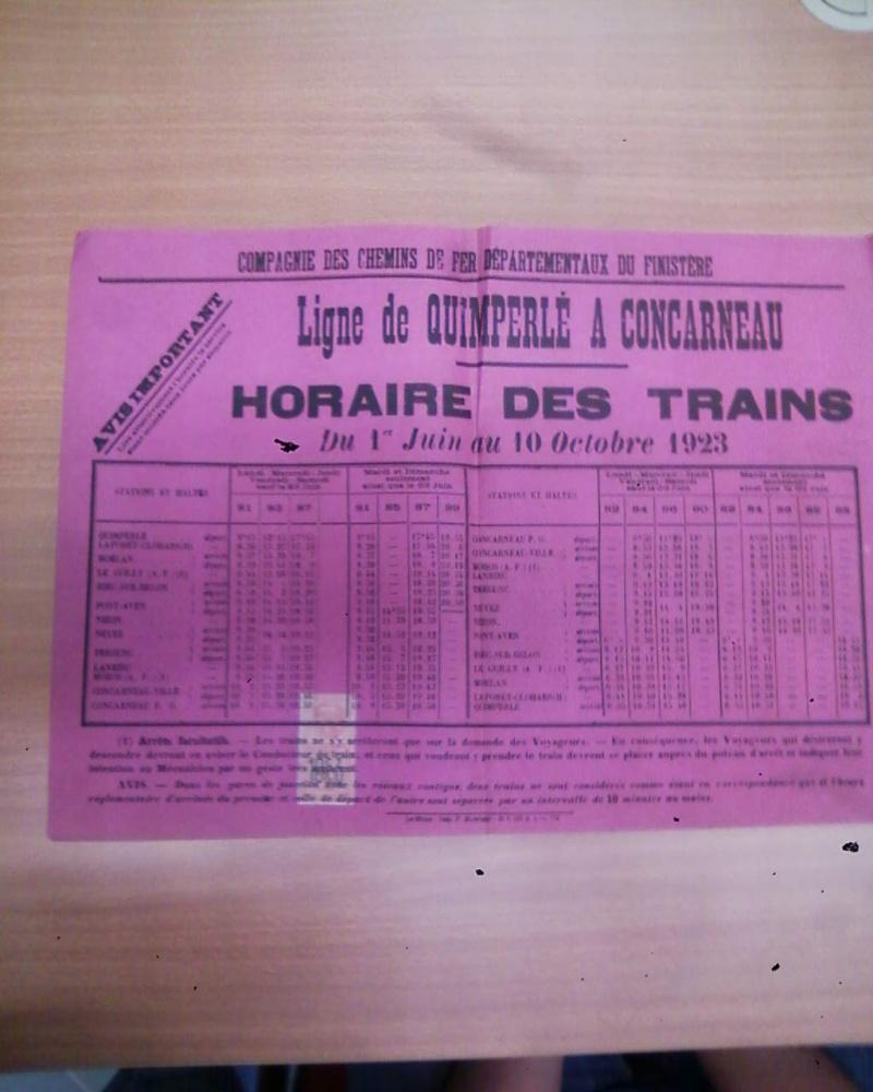 Ligne de Quimperlé-Pont-Aven-Concarneau (1903-1908-1909-1936) Photos11