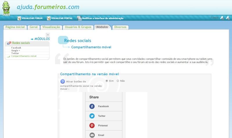 Compartilhamento móvel Compmo10