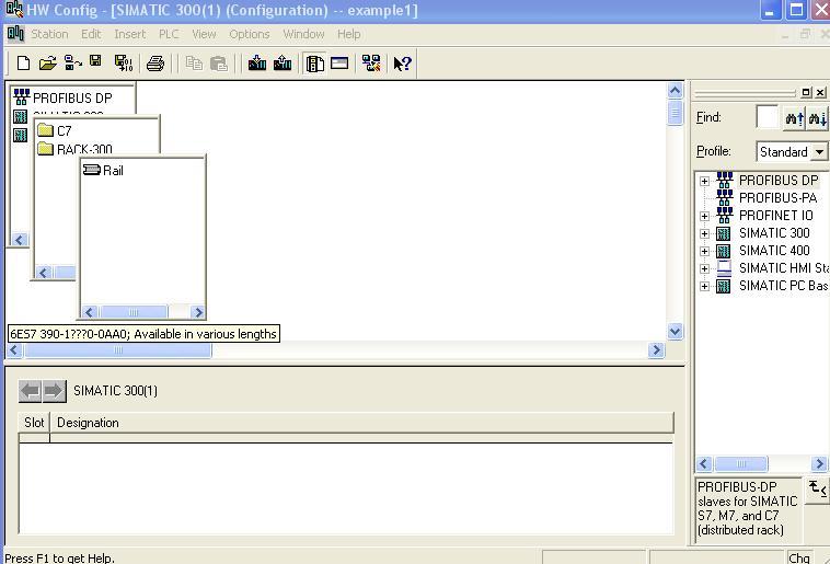 دورة تدريبية في الحاكمات المنطقية قابلة للبرمجة طراز Siemens S7 Hw_con11