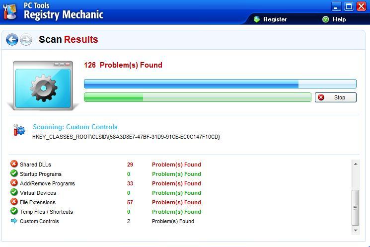 وهذا برنامج Registry mechanic V8.0.0.900 Regist11