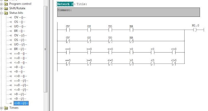 دورة تدريبية في البرمجة باستخدام LAD Diagram سيمنس S7-300/400 - صفحة 4 Status10