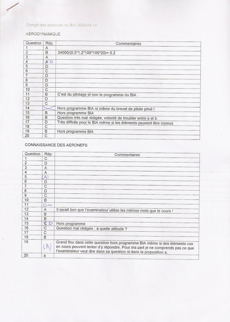 Sujets et corrigés  BIA 2009 - Page 3 Scan0012