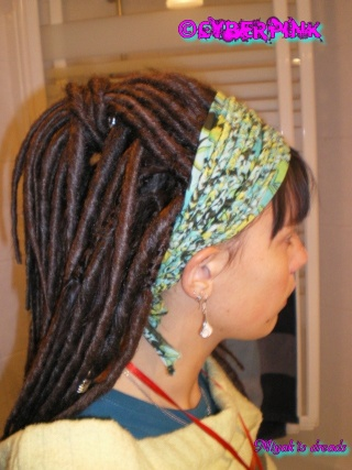 Dreads by me ^^ Pose_c10