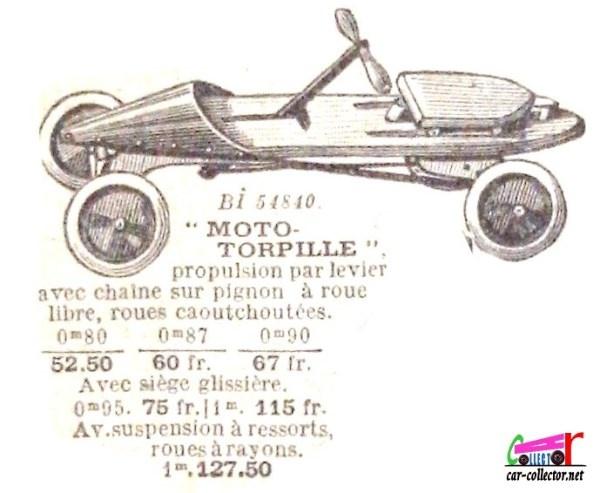 Championnats de jouets sportifs 1932 - (voitures à pédales) Ob_a6510