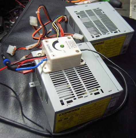 modification d'une alimentation ATX pour rampe à led 12v Atxcom10