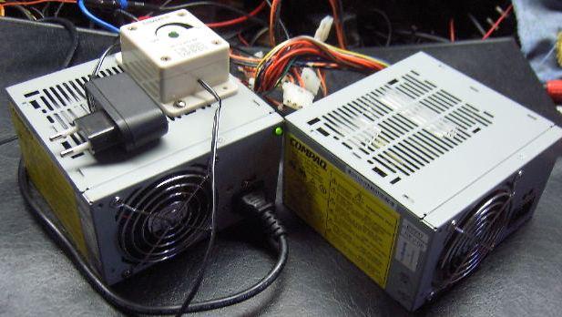 modification d'une alimentation ATX pour rampe à led 12v Atxcom11