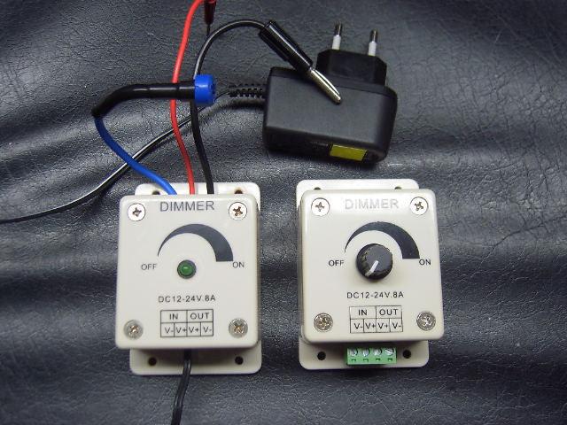 modification d'une alimentation ATX pour rampe à led 12v Dimmer10