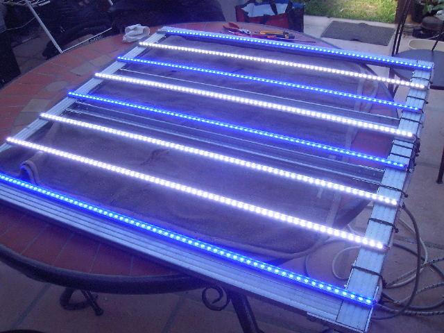 rampe led pour aquarium terrarium riparium vivarium Rampeh15