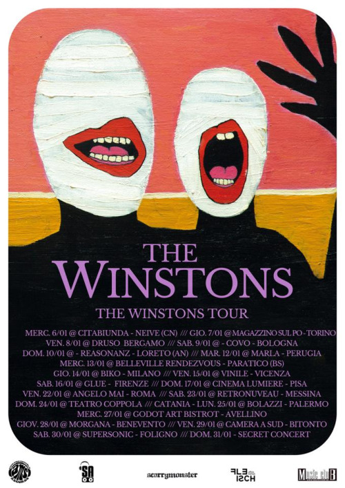 The Winstons - LP d'esordio e tourneé Tumblr10