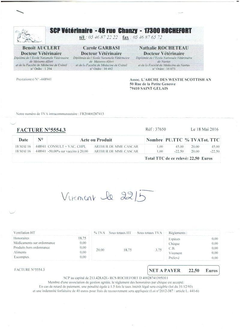 ARTHUR WESTIE NE EN 11/2005 DEPT 17 EN FA  - Page 2 Numyri19