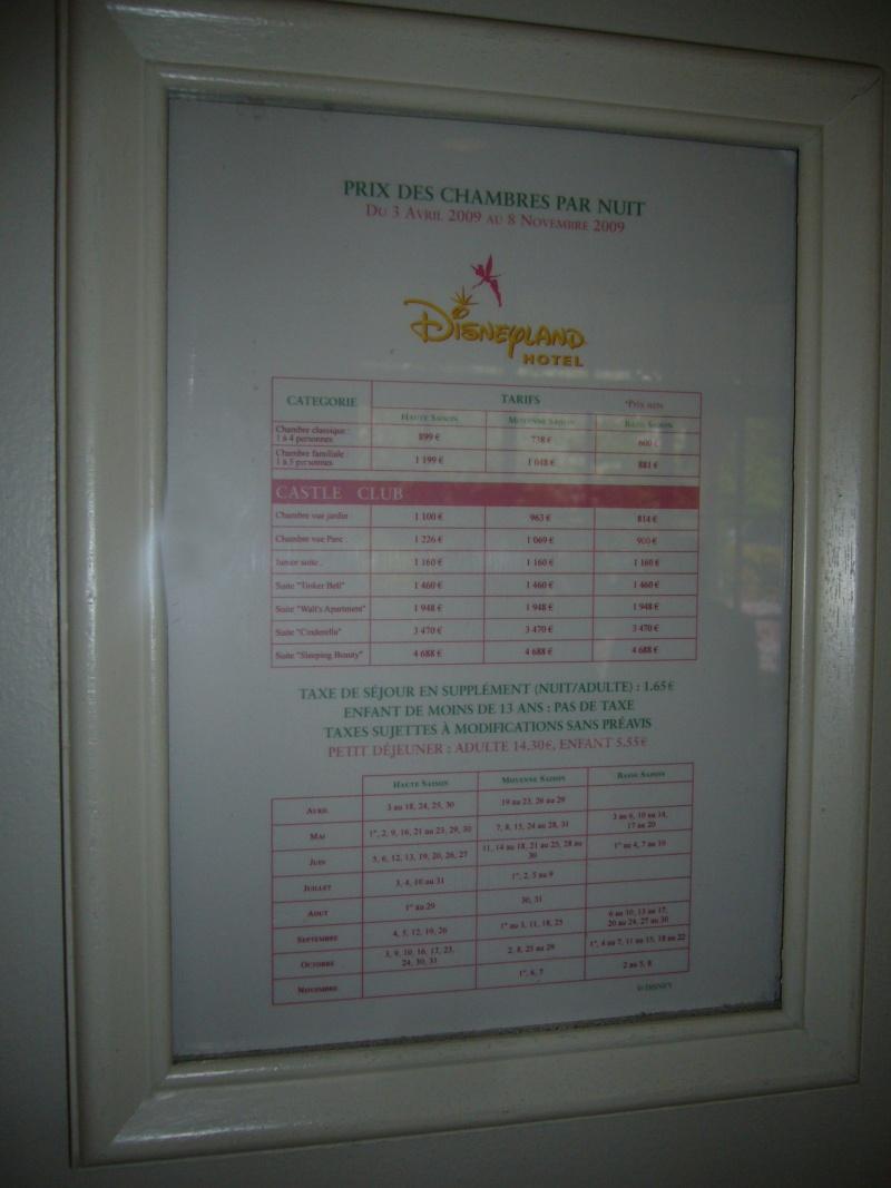 [Topic unique] Les suites des hôtels Disney, Castle Club et Empire State Club - Page 3 Tarifs12