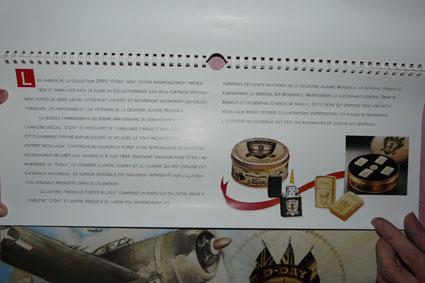Les accessoires ZIPPO de Bleck (MàJ du 11 01 14) - Page 2 Calend15