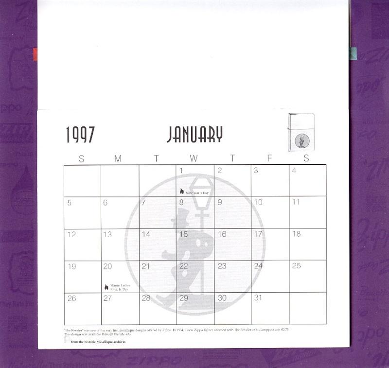 Les accessoires ZIPPO de Bleck (MàJ du 11 01 14) - Page 2 Calend25