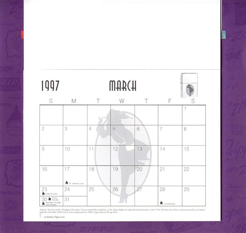 Les accessoires ZIPPO de Bleck (MàJ du 11 01 14) - Page 2 Calend27