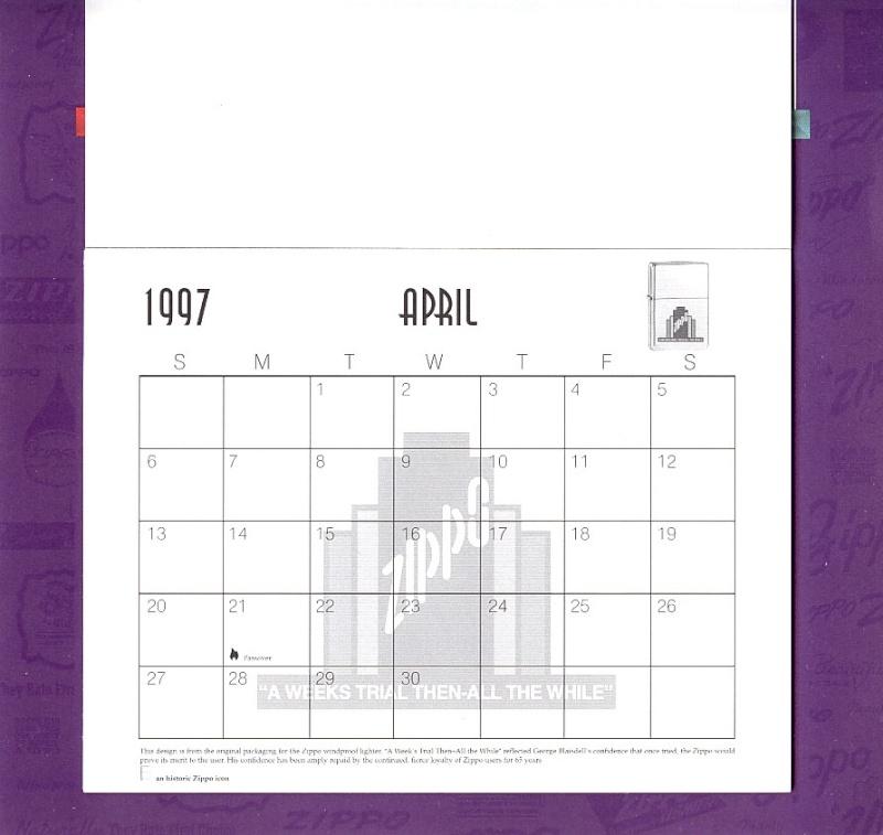 Les accessoires ZIPPO de Bleck (MàJ du 11 01 14) - Page 2 Calend28