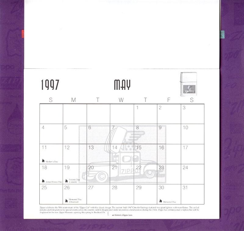 Les accessoires ZIPPO de Bleck (MàJ du 11 01 14) - Page 2 Calend29