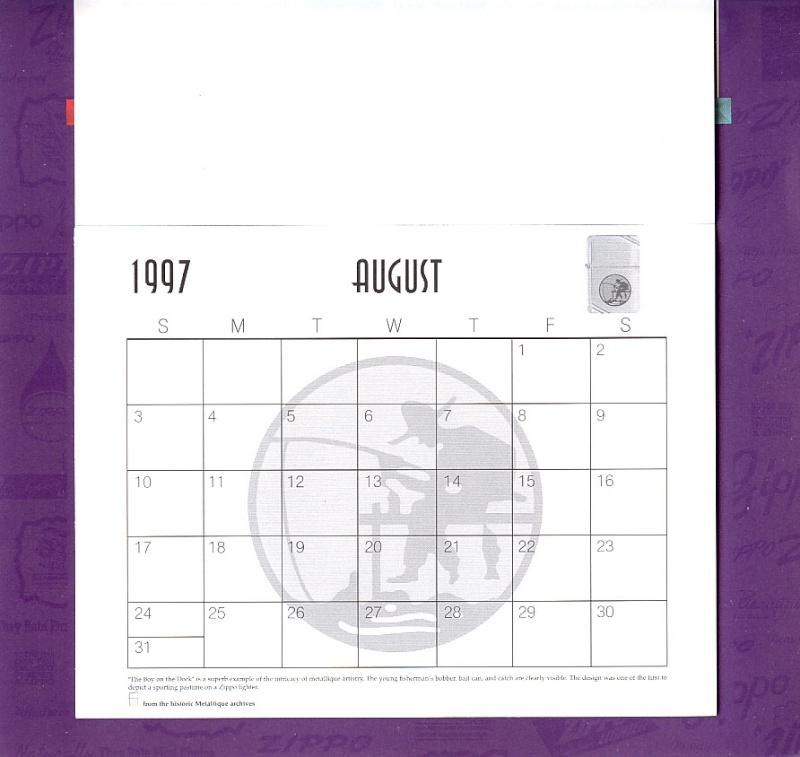 Les accessoires ZIPPO de Bleck (MàJ du 11 01 14) - Page 2 Calend32