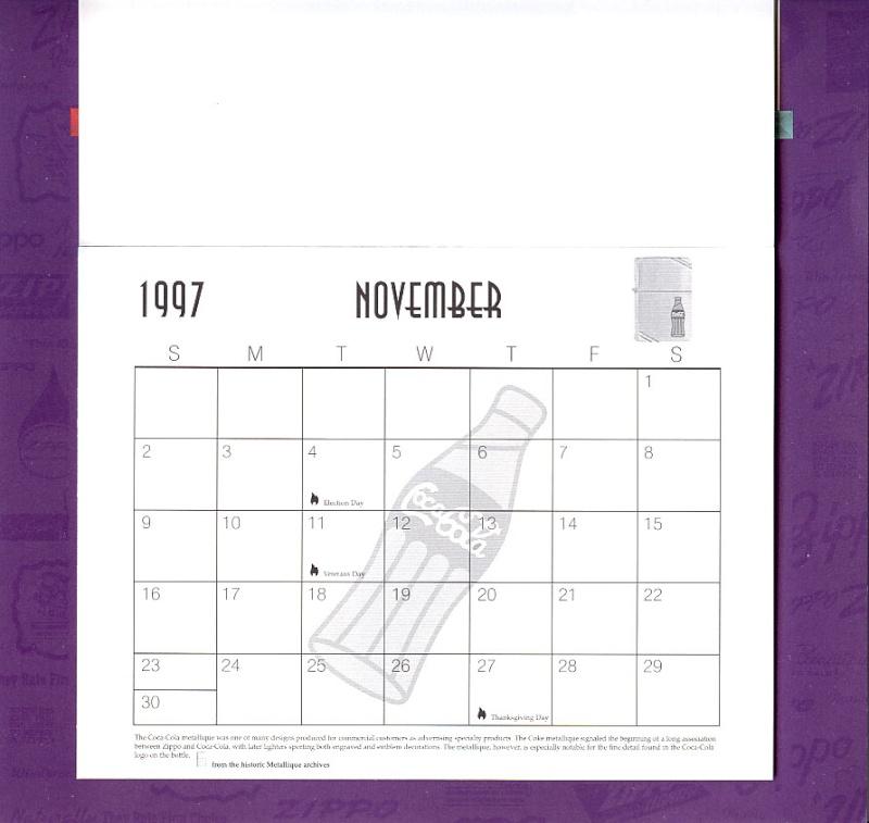 Les accessoires ZIPPO de Bleck (MàJ du 11 01 14) - Page 2 Calend35