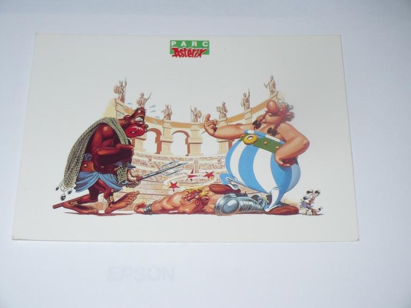 Cartes postales Parc Astérix 00354