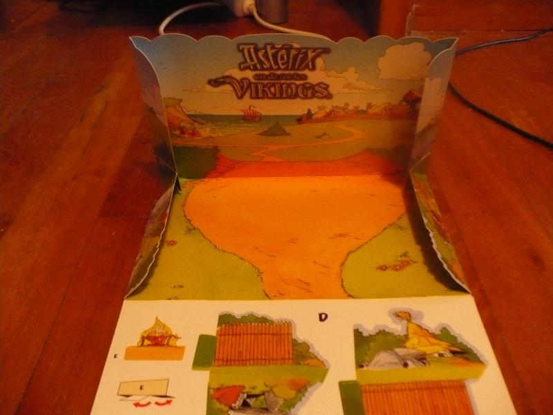 """""""Astérix et les vikings"""" diorama kinder belge  2006 00632"""