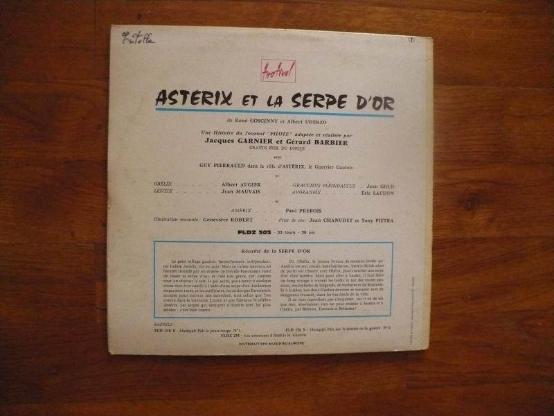disques asterix 33 et 45 Tours 04810