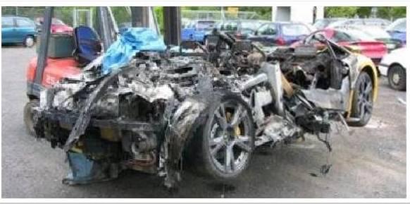 Crash de Super Cars Lambor19