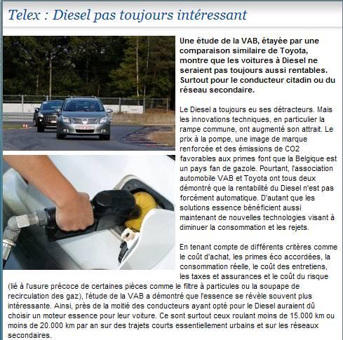 Essence ou Diesel Tablea14