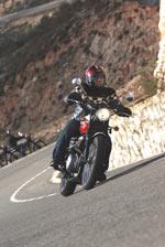 la moto ancienne Triump10
