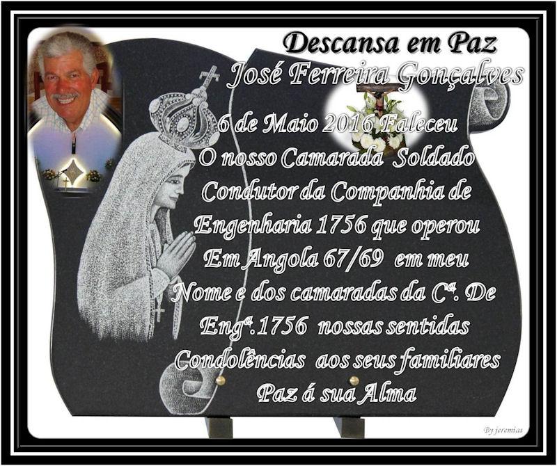 Faleceu o veterano José Ferreira Gonçalves, Soldado Condutor, da CEng1756 - 06Mai2016 Josy_f10