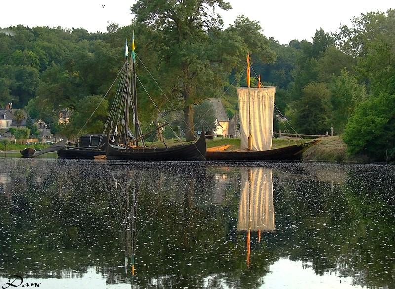 sur le Cher, bateaux à Savonnières Bateau10