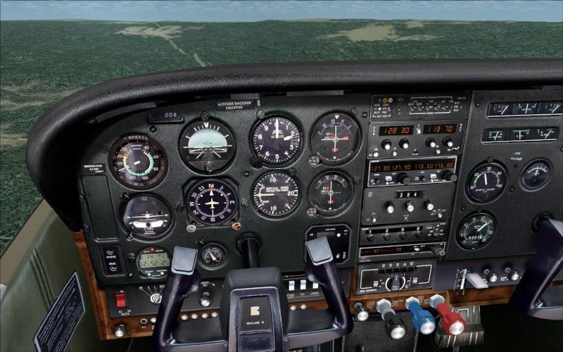 Novo AP no Cessna 182Q da Carenado Screen11