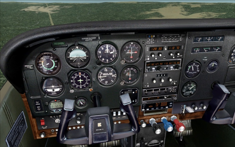 Novo AP no Cessna 182Q da Carenado Screen12