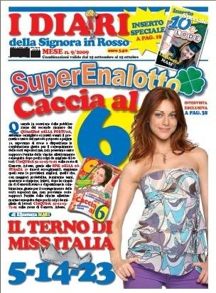 La Signora in Rosso in edicola (Settembre 2009) Diarim10