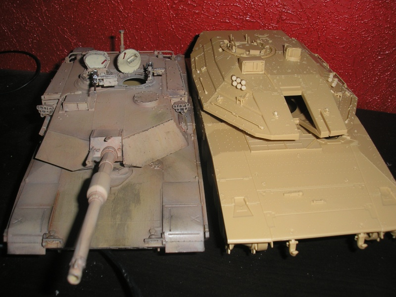"CHAR MERKAVA Mk.IV ""ACADEMY"" P1010019"