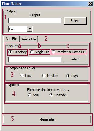 Thor Patcher - Utilisation adaptée avec les projets RPG Maker Thorma10