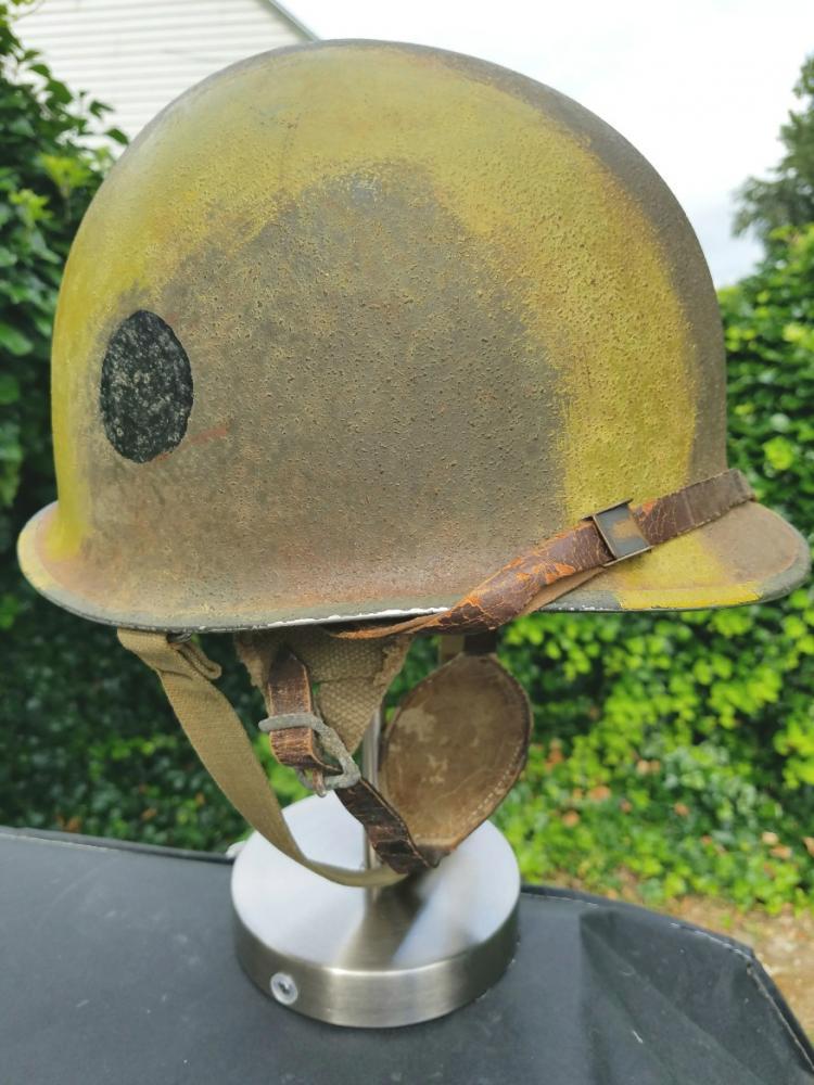 casque US à insignes Post-111