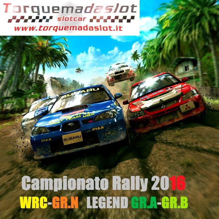 Campionato rally 2016  TORQUEMADASLOT Locand11
