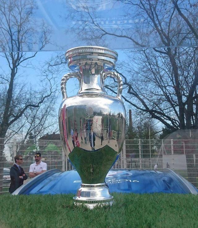 Euro 2016, la Coupe à Mulhouse  12966110