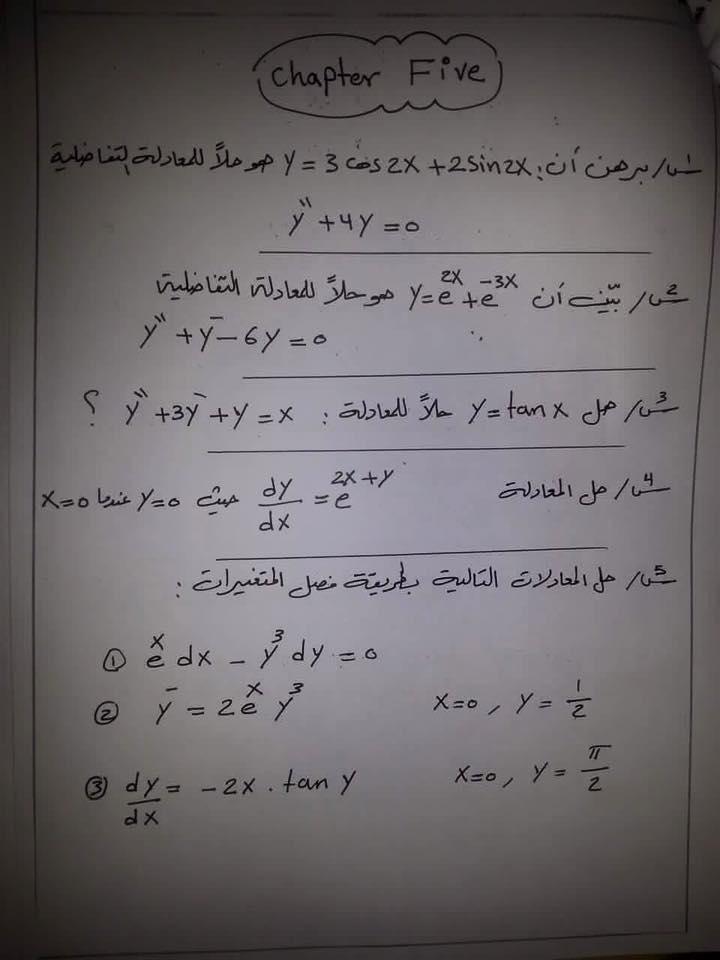 مرشحات الرياضيات السادس العلمي اعداد المهندس حيدر رشيد 213