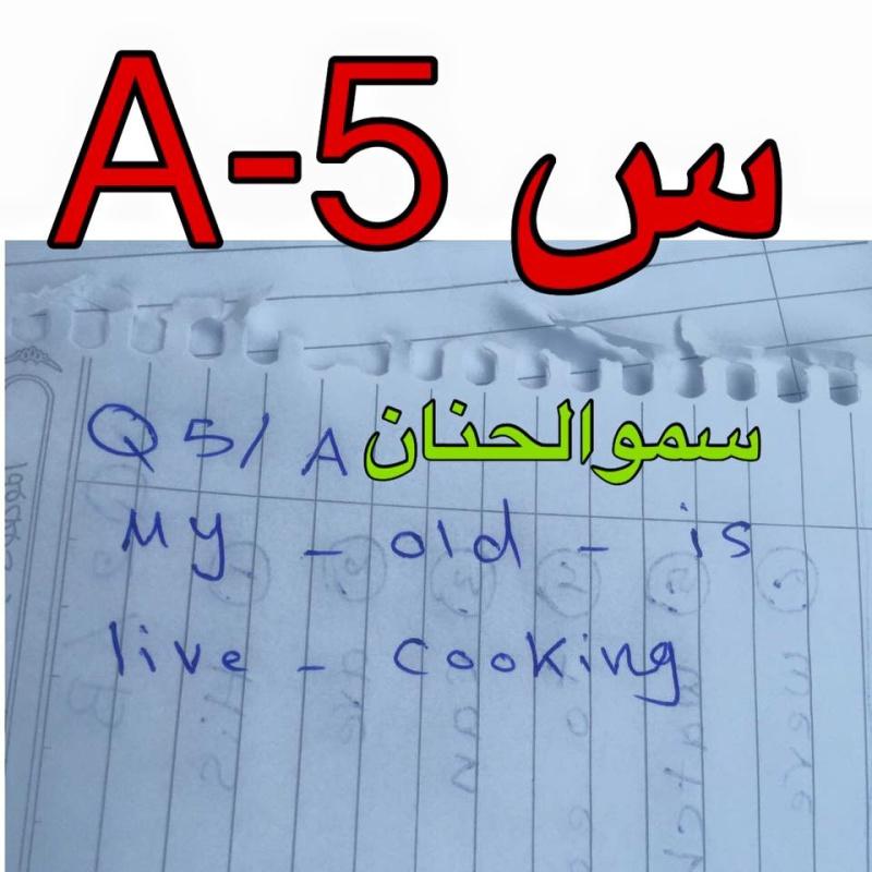 حل أسئلة امتحان اللغة الانكليزية للصف السادس الابتدائى 2016 فى العراق الدور الأول  633